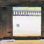 奥村土牛作「門」