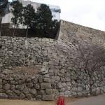 補強の石垣