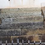 石段の刻印