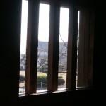 窓の格子(城内側)